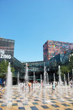 Beijing Sanlitun Commercial District Stock Photos