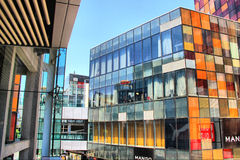 Beijing Sanlitun Commercial District Royalty Free Stock Image