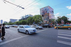 Beijing Sanlitun Commercial District Royalty Free Stock Photo