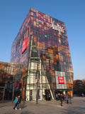Beijing Sanlitun shoppinggalleria Royaltyfri Bild