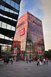 Beijing Sanlitun Village shopping mall Facade Stock Photos