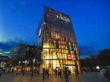 Beijing Sanlitun Village shopping mall Facade Royalty Free Stock Images