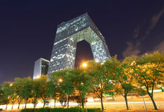 China CCTV office building in Beijing Stock Photo