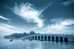 Beijing seventeen hole bridge Royalty Free Stock Photo