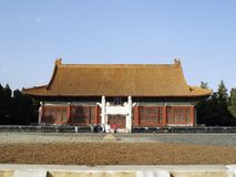 The Beijing Shejitan. Also known as the Altar of Earth and Harvests or Altar of Land and Grain is a Confucian altar, located in the Zhongshan Park in Beijing Royalty Free Stock Photography