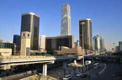 Beijing Skyline, CBD Building Stock Photo