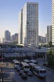 Beijing Skyline, CBD Building Royalty Free Stock Image