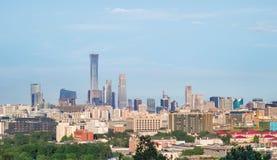 Beijing skyline , China royalty free stock image