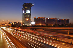 Beijing Skyline,IBM Building,Pangu Plaza Stock Image