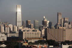 Beijing skyline Royalty Free Stock Image