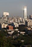 Beijing skyline. Skyline of Beijing, including CBD area Royalty Free Stock Photo