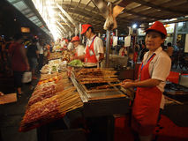 Beijing snack night market,China Stock Photography