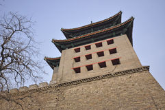 Beijing southeast corner tower Royalty Free Stock Photo