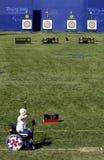 beijing spelar paralympic Arkivbilder