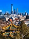 Beijing stad fotografering för bildbyråer