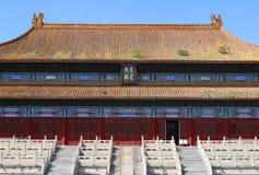 beijing stad förbjuden slott Royaltyfri Fotografi