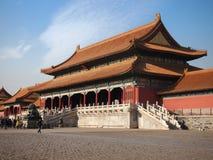 beijing stad förbjuden slott Royaltyfri Bild