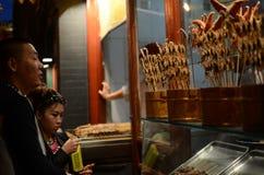 Beijing street snack market Stock Images
