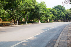 Beijing suburb road Royalty Free Stock Images