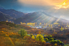 Beijing suburb scenery Stock Photo