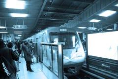 Beijing subway Royalty Free Stock Photography