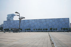The 2008 Beijing Summer Olympic Stadium, the national swimming center,. Chinese Asia, Beijing, the National Swimming Center, the Olympic Games in 2008 one of the Royalty Free Stock Photography