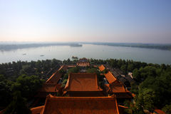 Beijing summer palace. The Summer Palace in the morning Stock Photo