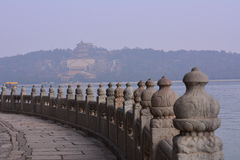 Beijing the Summer Palace ancient buildings Stock Photo