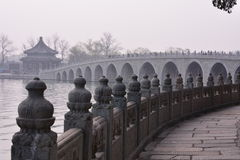 Beijing the Summer Palace ancient buildings Royalty Free Stock Images