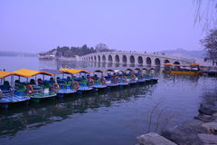 Beijing the Summer Palace ancient buildings Royalty Free Stock Photography