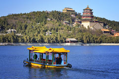 Beijing Summer Palace Chineses Pavilion Stock Photos