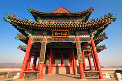 Beijing Summer Palace Chineses Pavilion Stock Photo