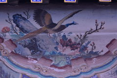 Beijing the Summer Palace murals of ancient buildings Stock Photo
