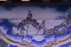 Beijing the Summer Palace murals of ancient buildings Stock Photography