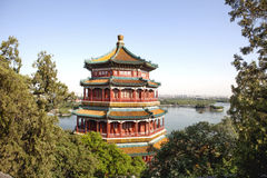 Beijing Summer Palace, Tower of Buddhist Incense Royalty Free Stock Image