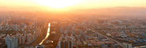 Beijing sunset Royalty Free Stock Images