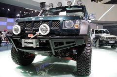 Beijing SUV front Royalty Free Stock Images