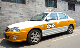 Beijing taxi Royalty Free Stock Photography