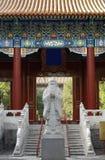 beijing tempel Royaltyfri Bild