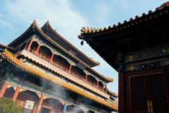 Beijing Temple of Confucius. The Temple of Confucius at Beijing is the second largest Confucian Temple in China, after the one in Confucius' hometown of Qufu Royalty Free Stock Images
