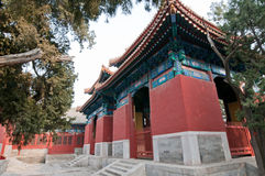 Beijing Temple of Confucius Royalty Free Stock Image