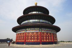 Beijing, Temple of Heaven Stock Photo