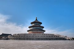 Beijing Temple of Heaven. Temple of Heaven in beijing china Royalty Free Stock Images