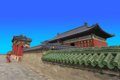 Beijing temple of heaven emperor temple Royalty Free Stock Images
