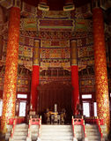 Beijing Temple of Heaven interior Royalty Free Stock Images