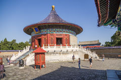 Beijing. Temple of Heaven (Tiantan). Imperial Vault of Heaven (Huangqiongyu) Royalty Free Stock Photos