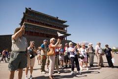 Beijing.Tiananmen Quadrat lizenzfreies stockfoto