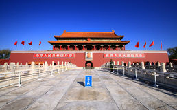 Beijing Tiananmen Square Stock Photography