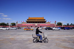 Beijing tiananmen square Royalty Free Stock Photos