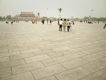 Beijing Tiananmen Square Stock Photo